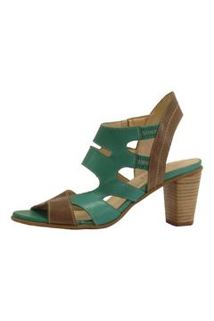 Shoptiques Product: Green Leather Heel