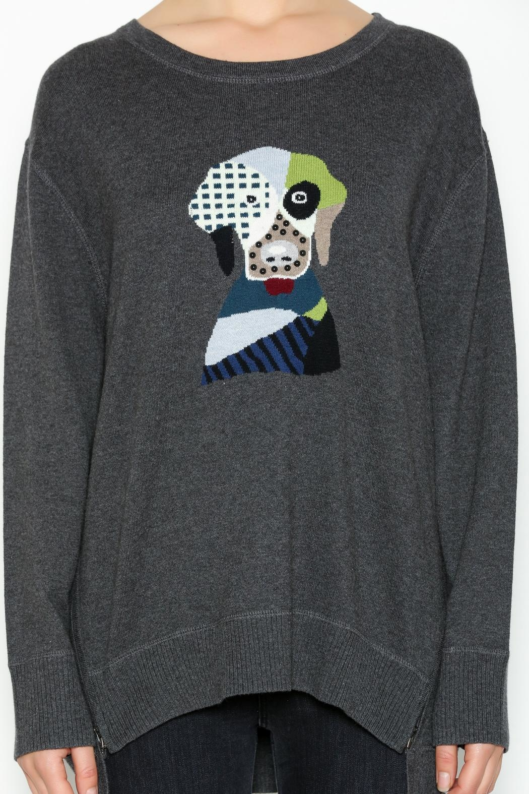 Lisa Todd Fido Crew-Neck Sweater - Front Full Image
