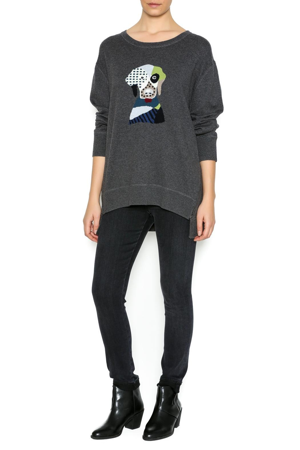 Lisa Todd Fido Crew-Neck Sweater - Side Cropped Image