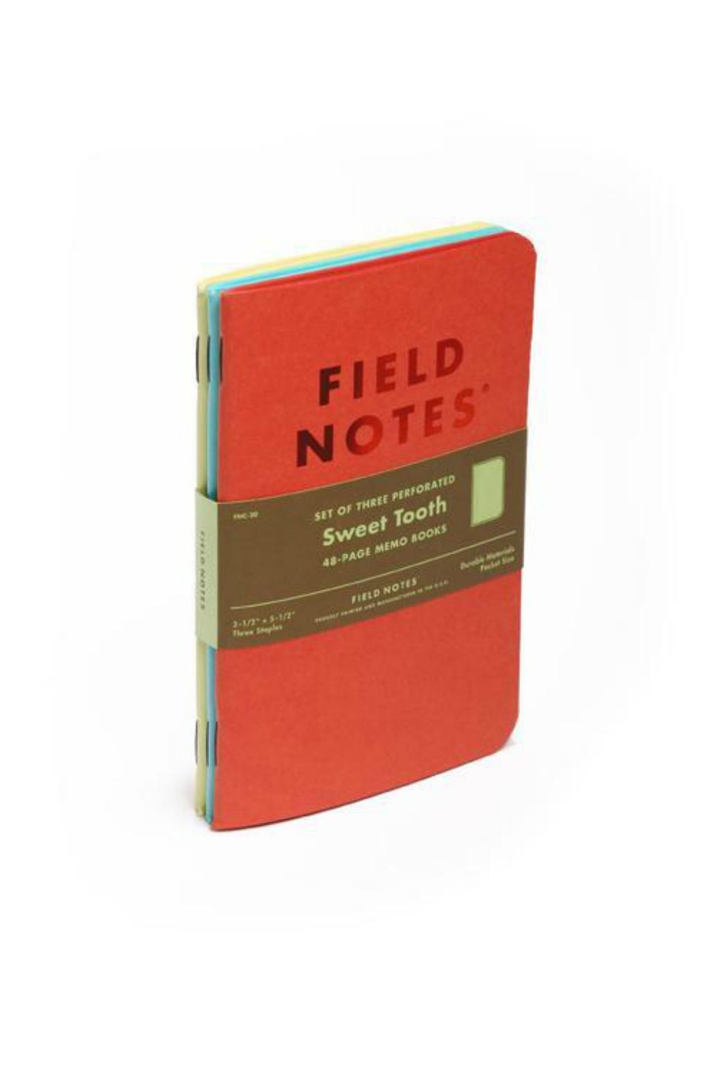 Field Notes Sweet Tooth Notepad - Front Full Image
