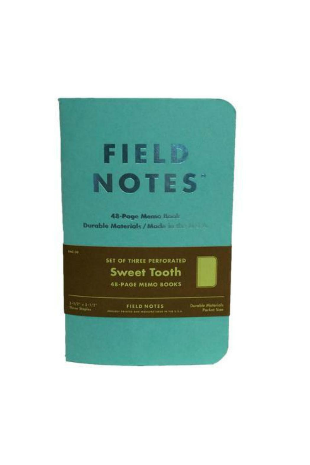 Field Notes Sweet Tooth Notepad - Main Image