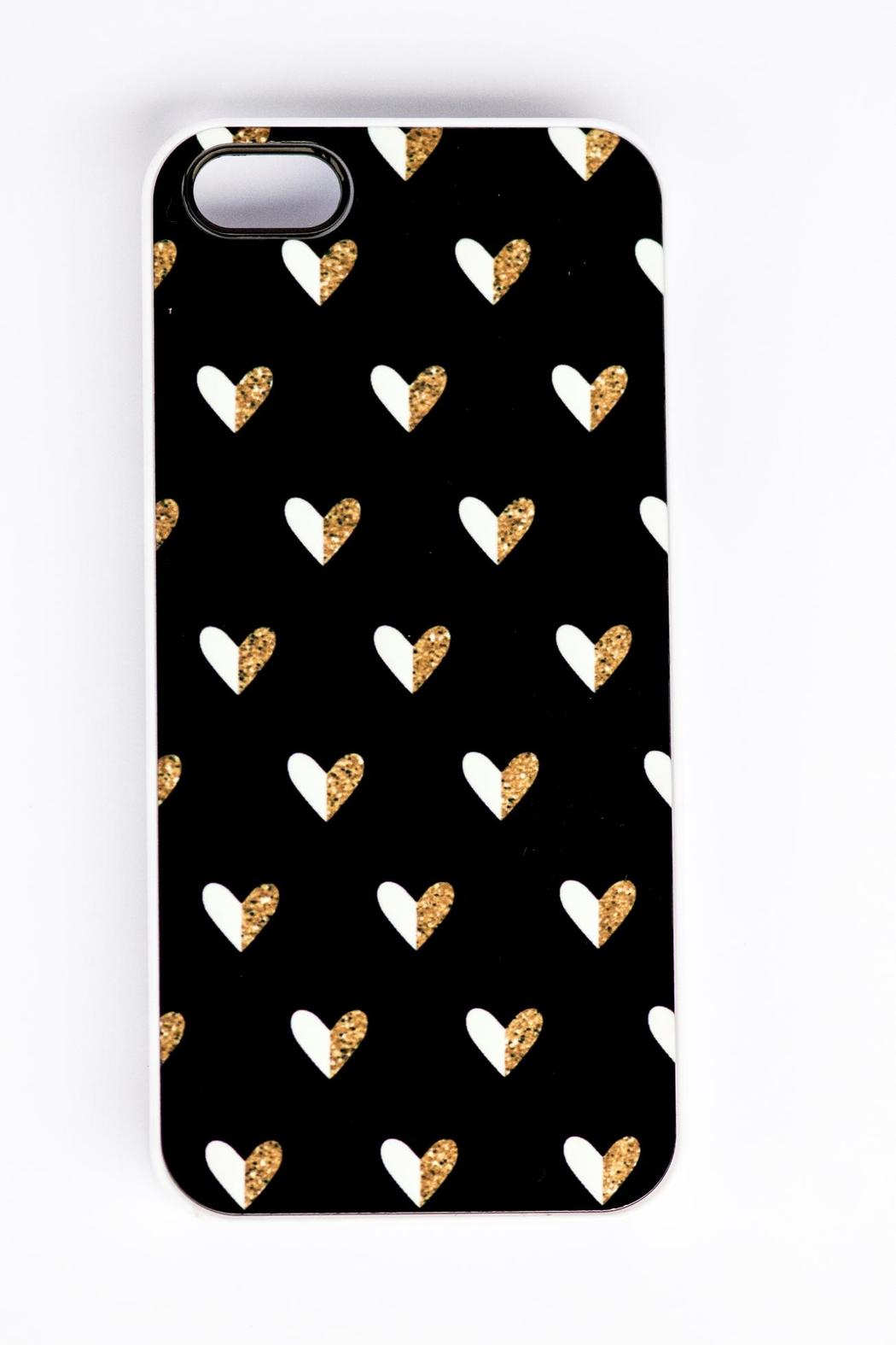 Field Trip Hearts Iphone5 Case - Front Full Image