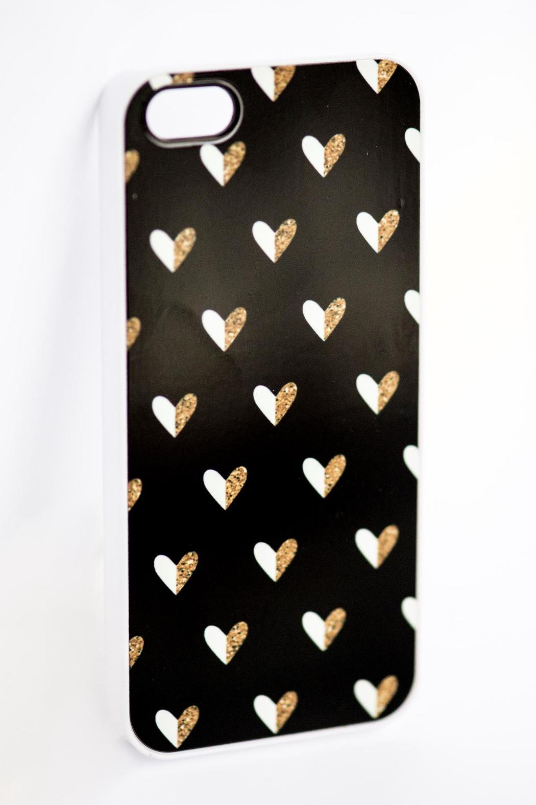 Field Trip Hearts Iphone5 Case - Side Cropped Image