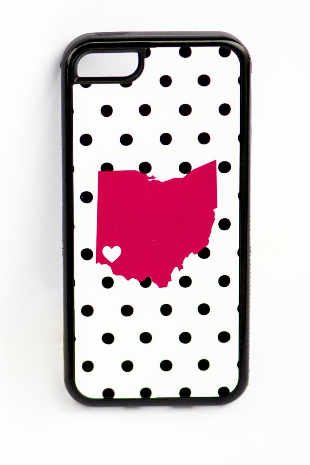 Field Trip Ohio Dots Iphone5c - Back Cropped Image