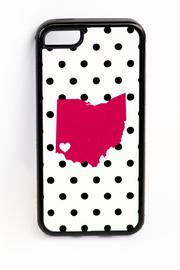 Field Trip Ohio Dots Iphone5c - Back cropped