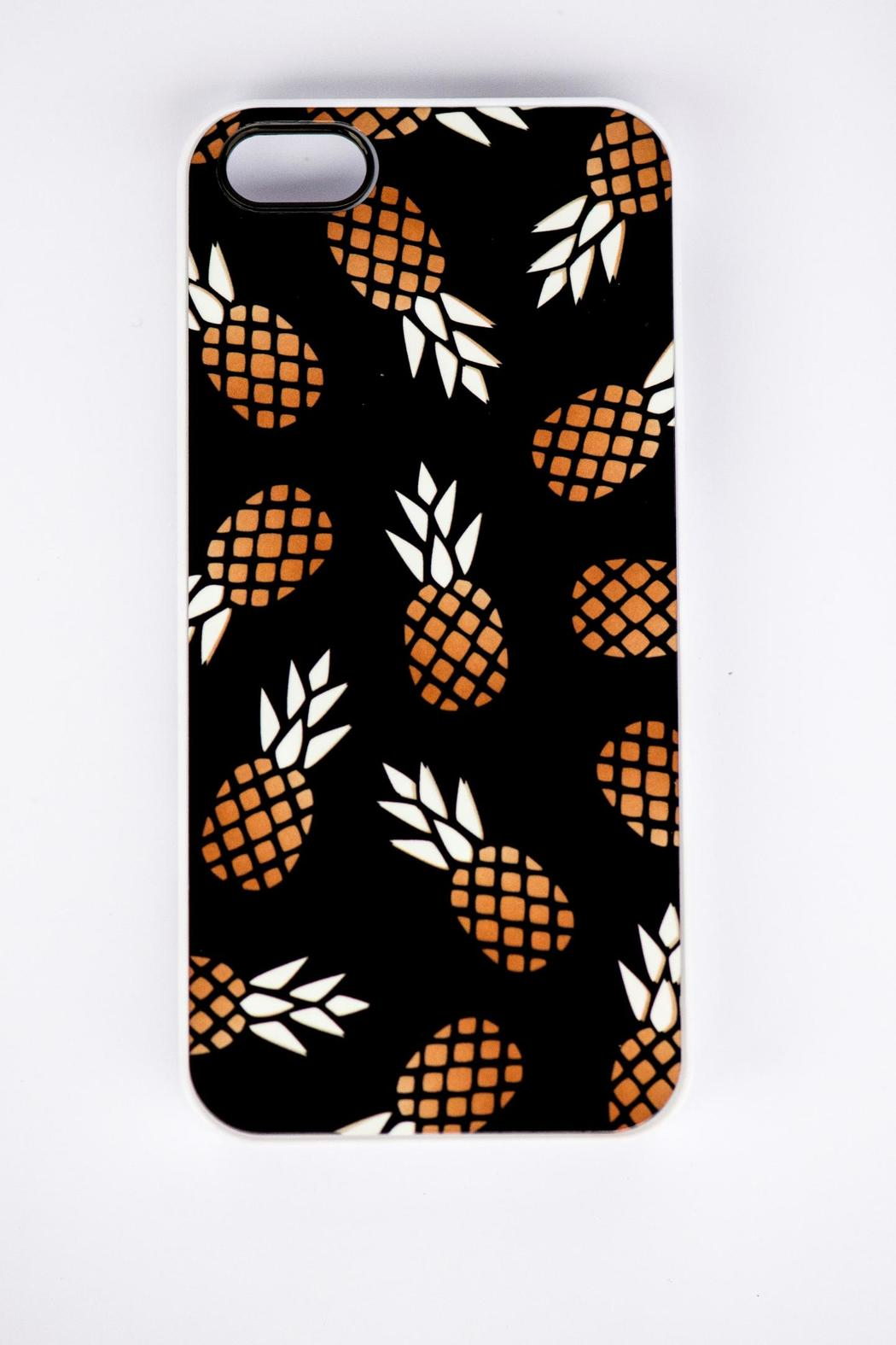 Field Trip Pineapple Iphone5 Case - Front Full Image