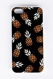 Field Trip Pineapple Iphone5 Case - Front cropped