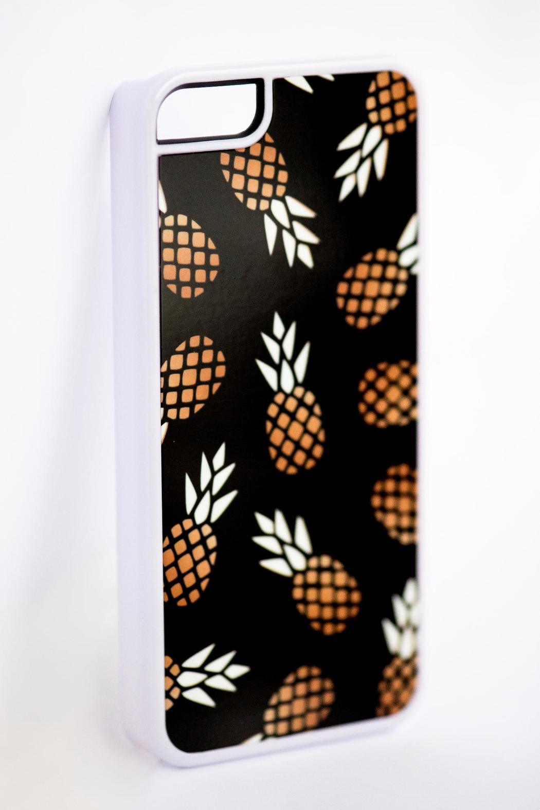 Field Trip Pineapple Iphone 5c Case - Side Cropped Image