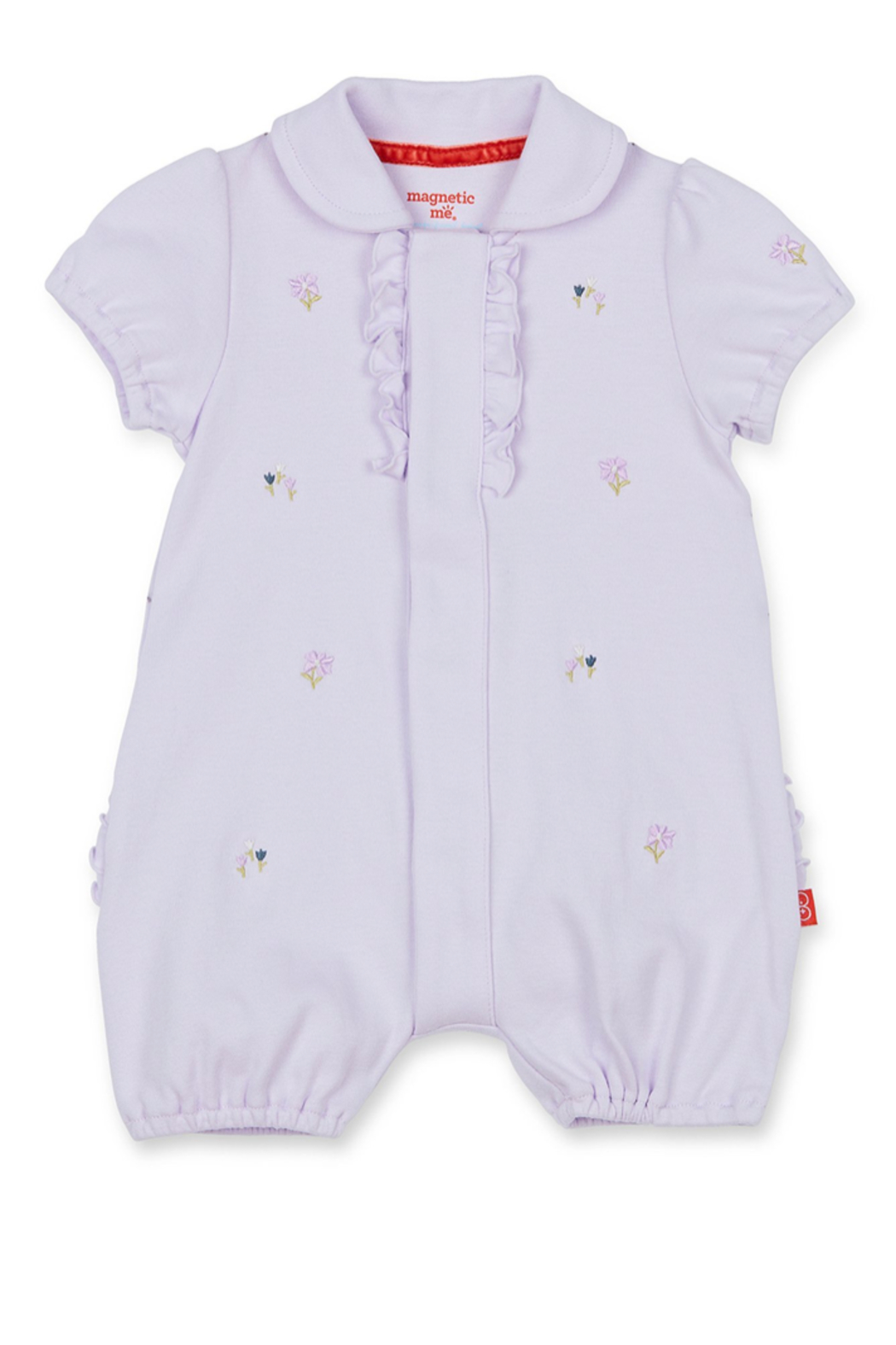 Magnetic Me Fieldston Magnetic Polo Romper - Main Image