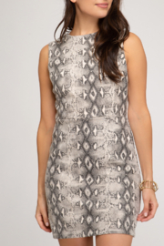 She and Sky Fierce Fashion Dress - Front cropped