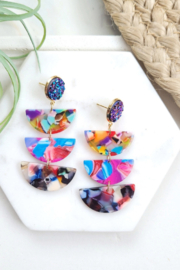 Spiffy & Splendid Fiesta Blaire Earrings - Product Mini Image