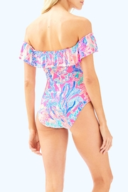 Lilly Pulitzer Fiesta One-Piece Swimsuit - Front full body