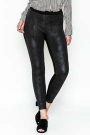 Fifteen Twenty Seamed Suede Pants - Product Mini Image