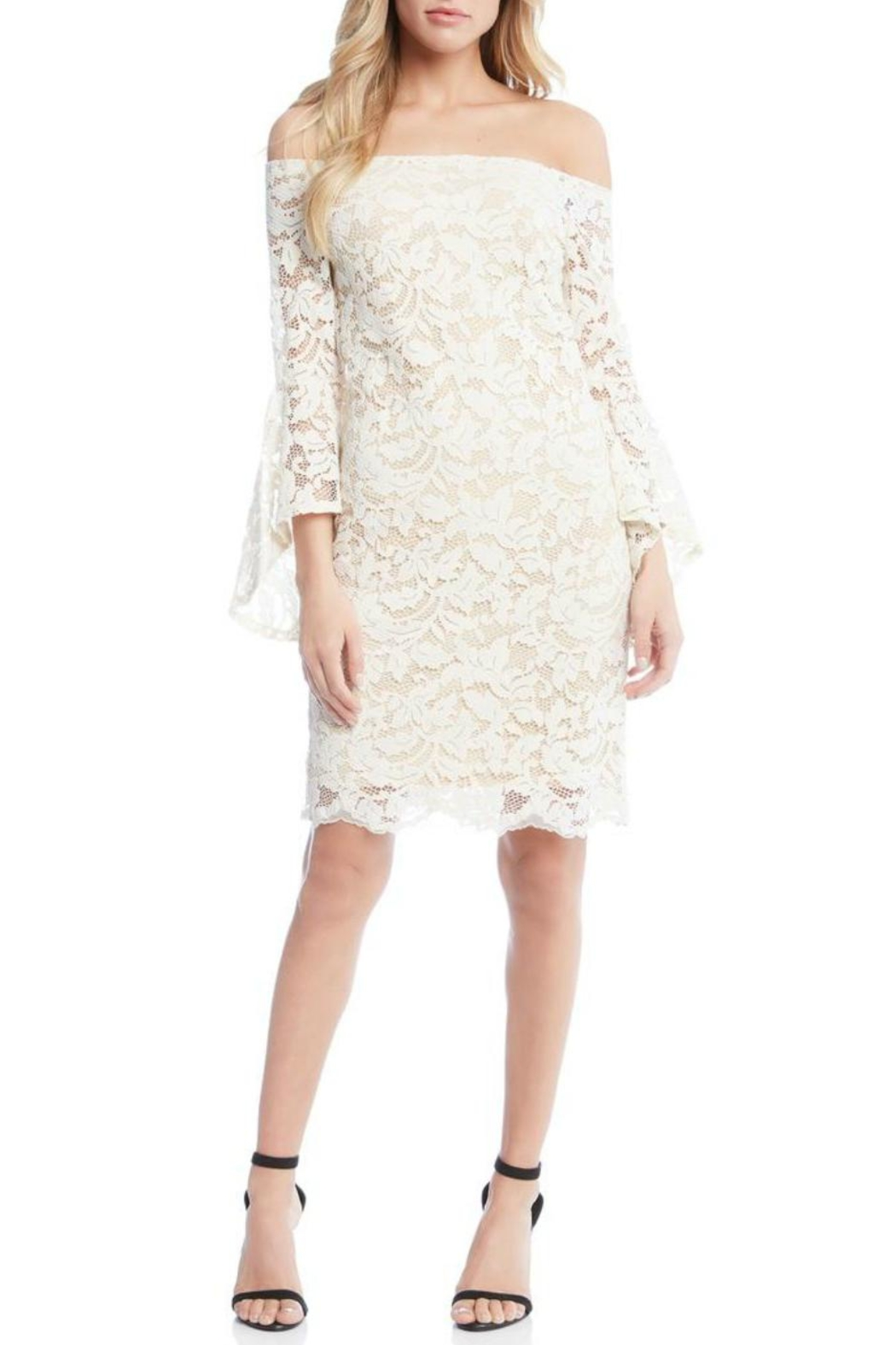 Fifteen Twenty Bell Sleeve Dress - Main Image