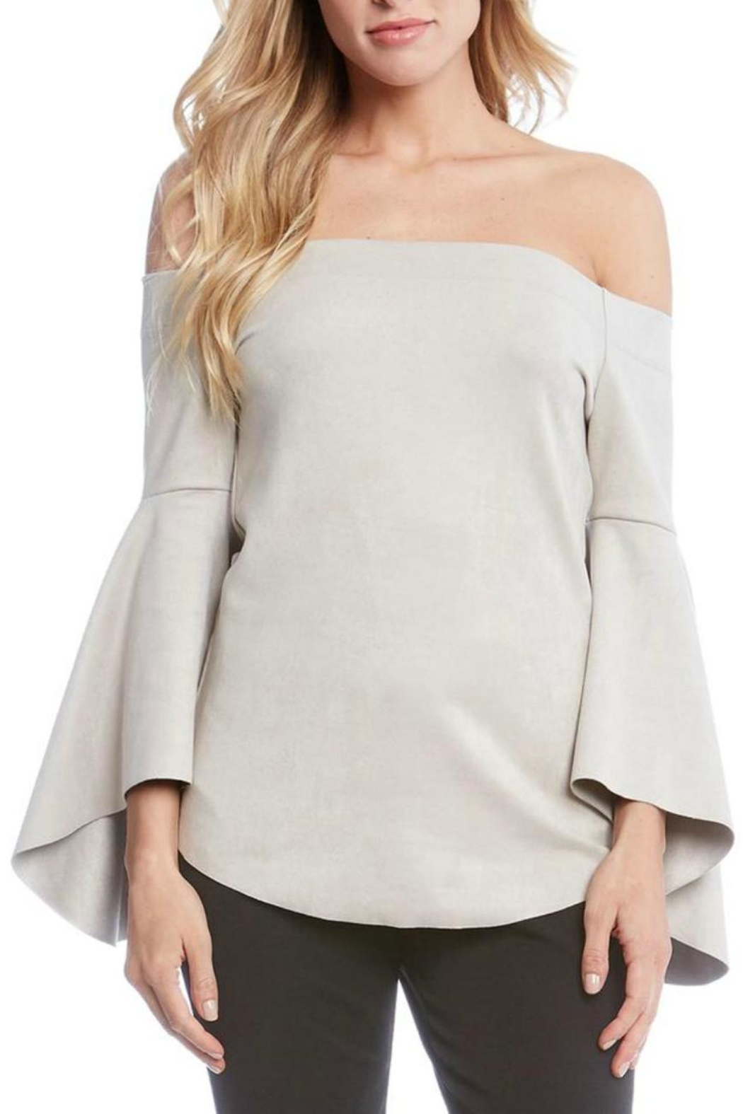 Fifteen Twenty Bell Sleve Top - Front Full Image