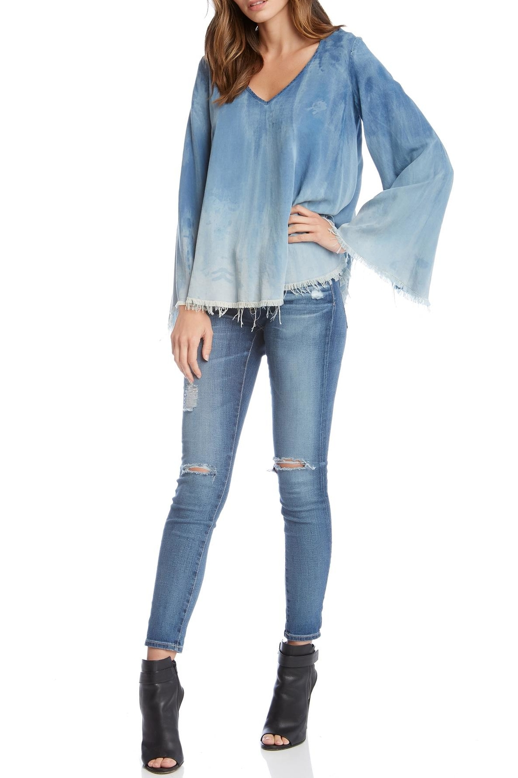 Fifteen Twenty Denim Top - Main Image