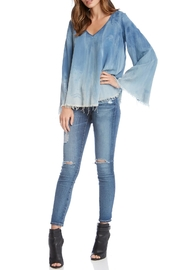 Fifteen Twenty Denim Top - Product Mini Image