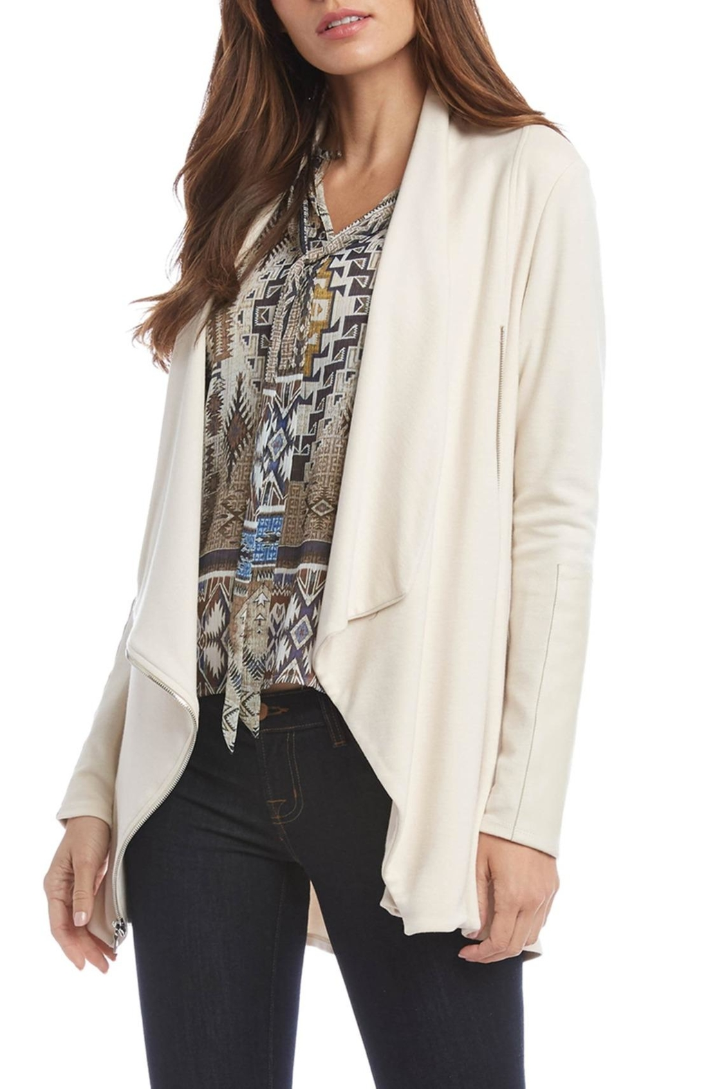 Fifteen Twenty Drape Jacket - Front Full Image