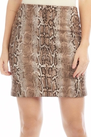 Fifteen Twenty Faux Suede Skirt - Product Mini Image