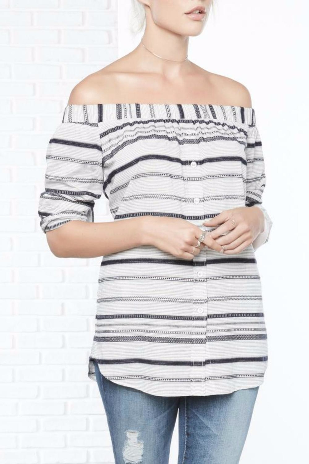 ce536c84a0 Fifteen Twenty Off Shoulder Top from Westhampton Beach by Chic ...