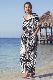 Fifteen Twenty Palm Print Midi - Product Mini Image