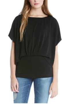 Shoptiques Product: Pleated Overlay Top