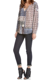 Fifteen Twenty Printed Blouse - Front full body