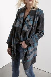 Fifteen Twenty Raw Edge Blanket Jacket - Product Mini Image