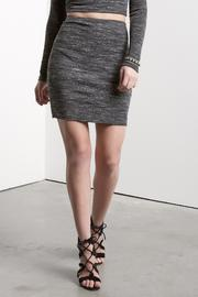 Fifteen Twenty Rib Pencil Skirt - Product Mini Image