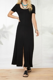 Fifteen Twenty Slit Front Midi Dress - Product Mini Image