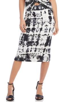 Fifteen Twenty Tie Dye Midi Skirt - Product List Image