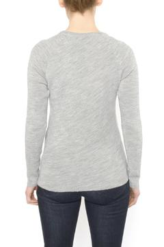 Shoptiques Product: Fitted Grey Sweater