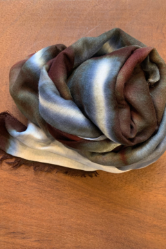 Fig & Bella Scarf Blue Brown - Product List Image