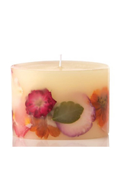 Rosy Rings Fig & Poppy -Petite Botanical Candle - Front cropped
