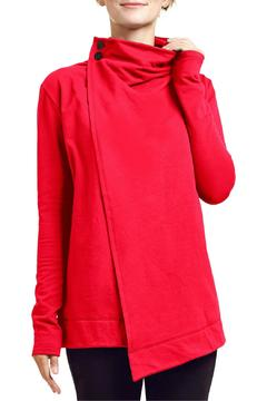Shoptiques Product: Kev Cardigan Red