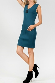 Milla Figure Flattering Dress - Product Mini Image