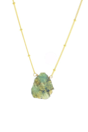 Lotus Jewelry Studio Fiji Necklace with Labradorite - Product Mini Image