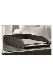 Gift Craft File Tray Faux-Leather - Front cropped