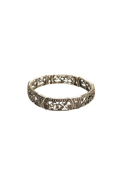 Giftcraft Inc.  Filigree Stretch Bracelet - Alternate List Image