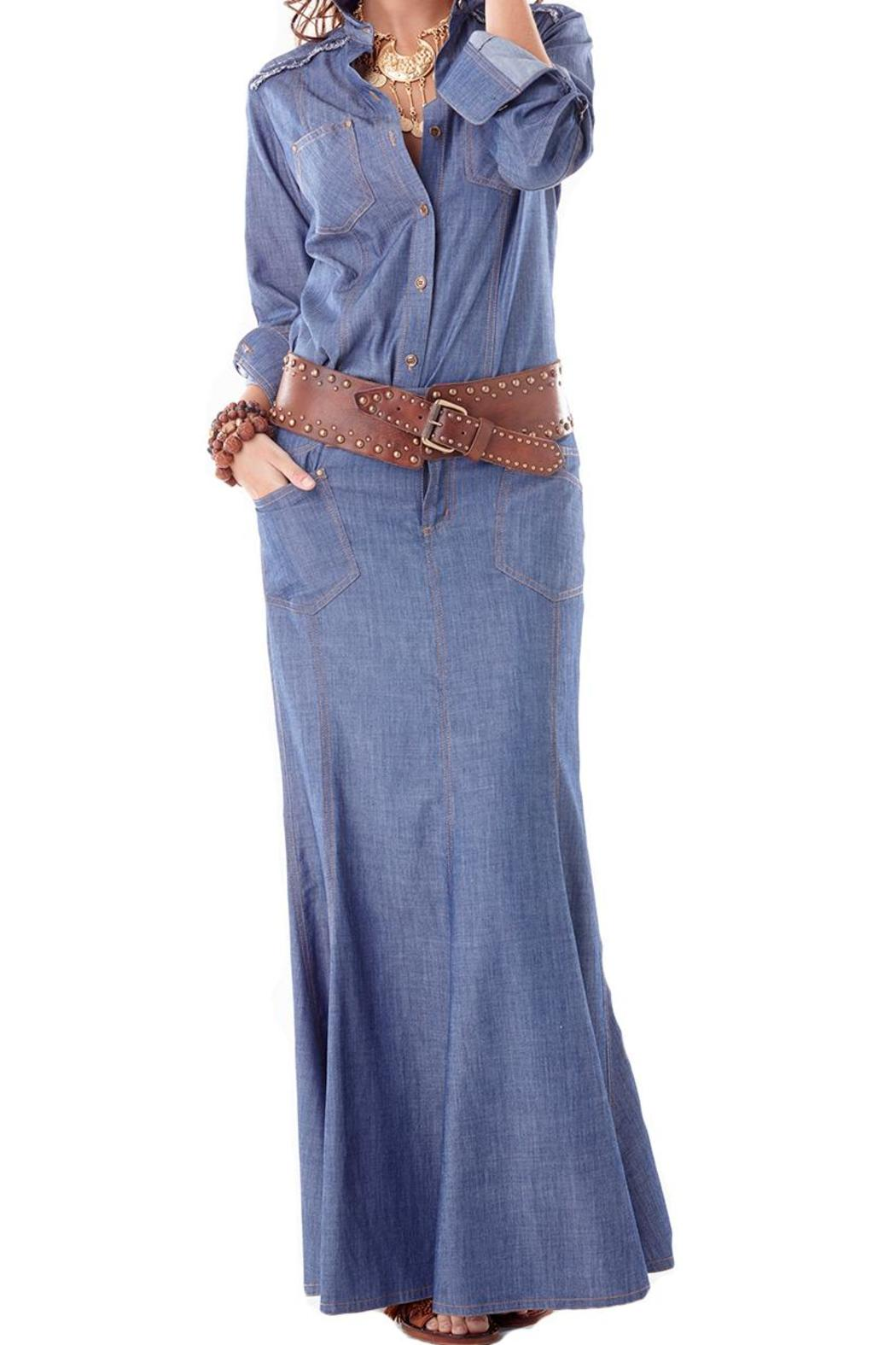 Maxi Denim Skirt — Shoptiques