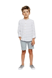 Fina Ejerique Shirt And Shorts. - Front full body