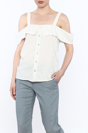 Final Touch Button Down Top - Product Mini Image