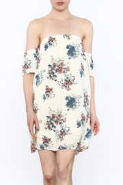 Final Touch Floral Off The Shoulder Dress - Product Mini Image