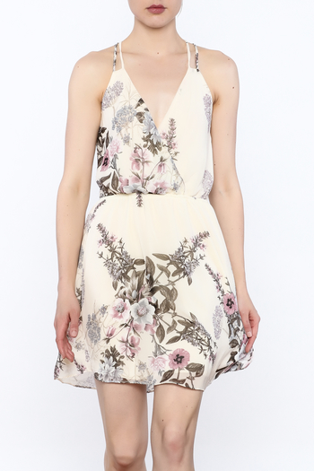 Final Touch Floral Print Dress - Main Image