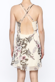 Final Touch Floral Print Dress - Back cropped