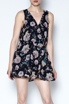 Shoptiques Product: Floral Sleeveless Romper