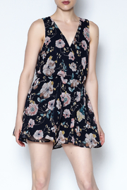Final Touch Floral Sleeveless Romper - Product Mini Image