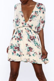 Final Touch Floral Printed Wrap Dress - Product Mini Image