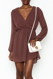 Final Touch Flowy Dress - Front cropped