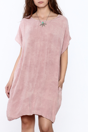 Final Touch Pink T Shirt Dress - Product Mini Image
